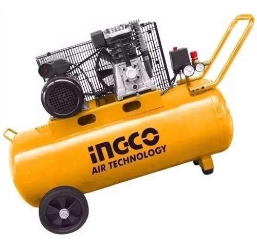 Compresor Monofásico Ingco 100 Lts 3hp Garantía 1 Año