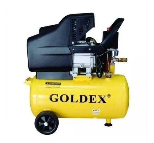 Compresor De Aire 50 Lt 2 Hp Goldex