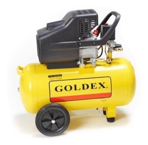 Tanque Compresor Aire Goldex 24lts 2hp Goldex 115 Psi