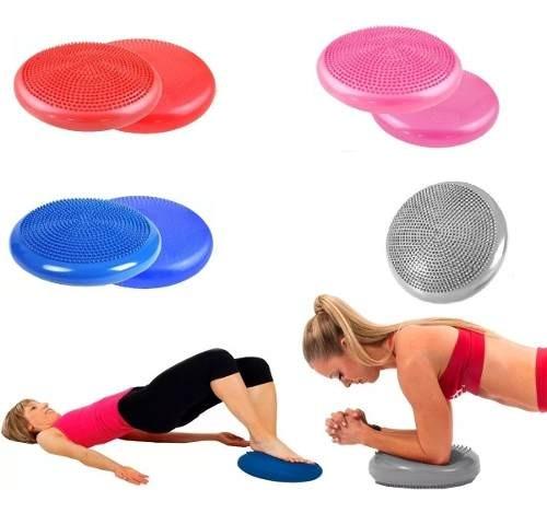 Disco Plataforma Mini Bosu De Balance Y Equilibrio Yoga