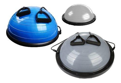 Medio Balón Pelota Plataforma Ejercicios Bosu Con Bandas