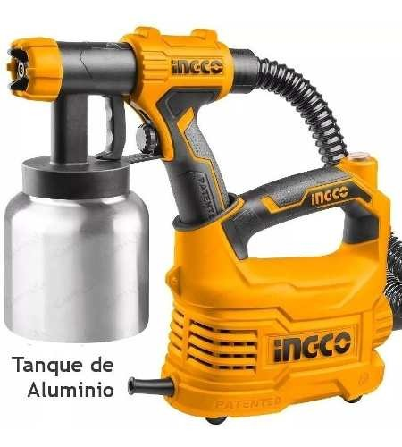 Equipo Maquina Pintar Tanque Aluminio Ingco 500w