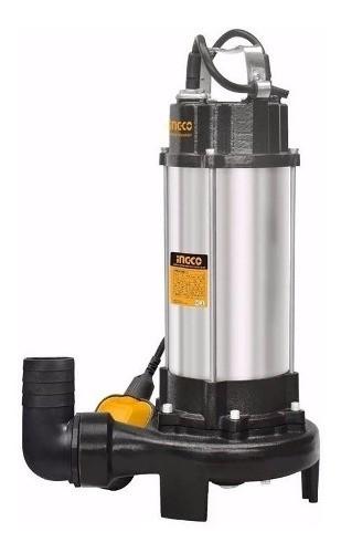 Bomba Sumergible Triturador 1500w Ingco Pozo Negro