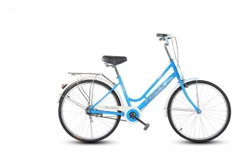 Bicicleta Paseo Unisex Rodado 26 + Parrilla