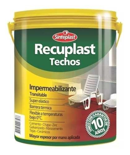 Membrana Liquida Recuplast 20kg + Regalos (10 Años Garantia)