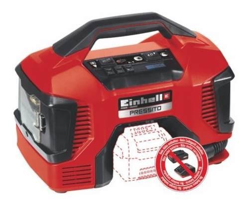 Compresor Hibrido (bateria/eléctrico) Pressito Solo Einhell