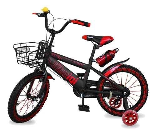 Bicicleta Rodado 16 Rueditas Niño Niña 100% Armadas