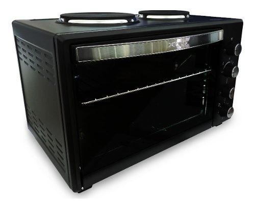 Horno Electrico 53 Lts Con 2 Hornallas Mini Cocina