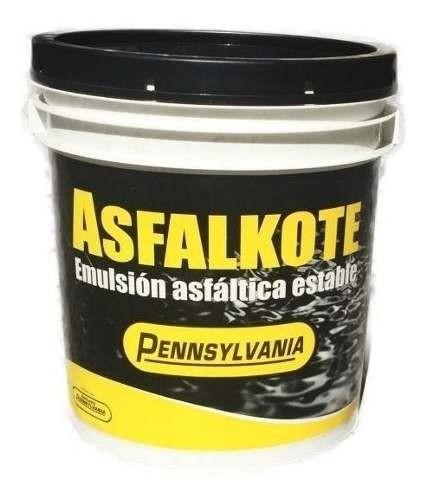 Impermeabilizante Asfalkote Pennsylvania 18 Kg.