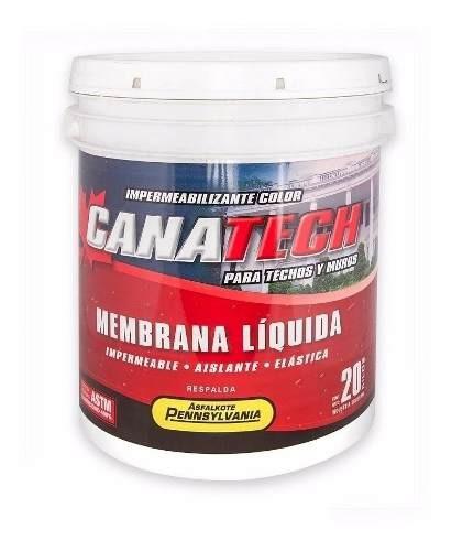 Pintura Membrana Liquida Impermeabilizante Canatech 20kg