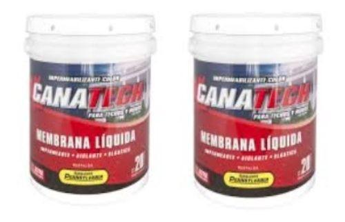 Canatech Membrana Liquida 20 + 20 Kgs. Colores