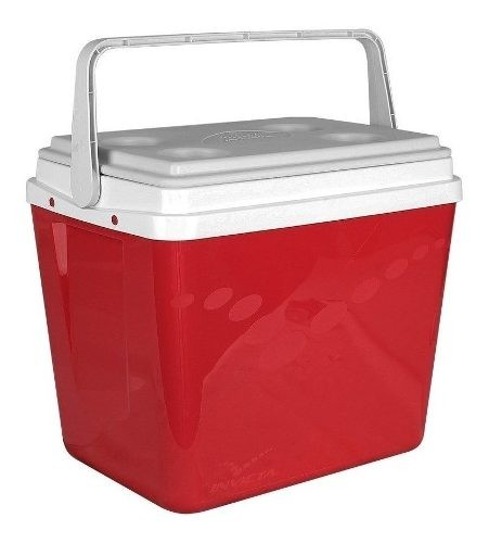 Conservadora Invicta 34 Lts Color Rojo