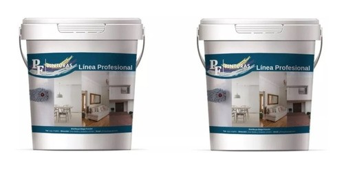 Pintura Latex Pared Interior Anti Hongo 20+20lts Pf+rodillo