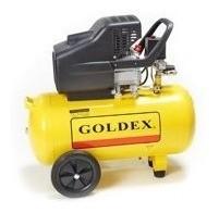Compresor De Aire Monofásico 2hp 50lt. Goldex