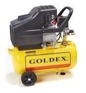 Compresor De Aire Monofásico 2hp. 24lt. Goldex