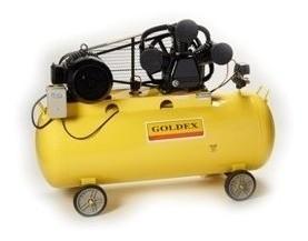 Compresor De Aire Trifásico 5.5hp. 300lt. Goldex