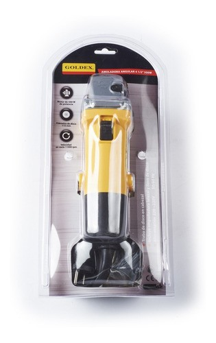 Amoladora Angular (en Blister) Pag115a Goldex