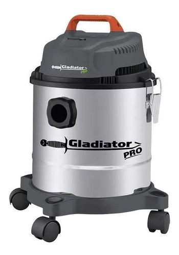 Aspiradora Industrial 15 Lts Agua/ Polvo Inox Gladiator A815