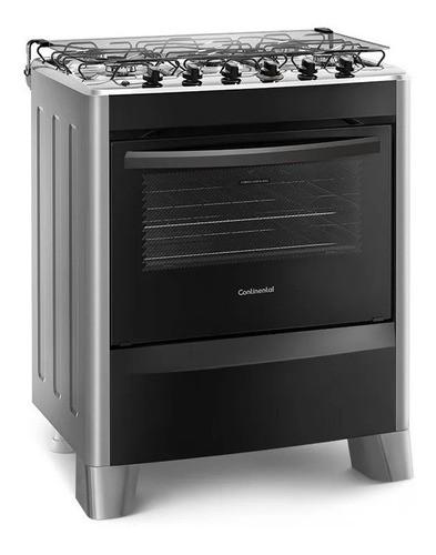 Cocina Continental 5h Super Gas Silver