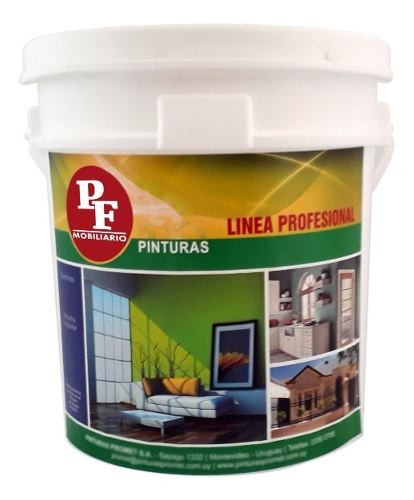 Pintura Latex Pared Interior Anti Hongo 20+20lts Pf