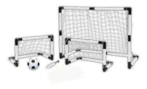 Set De Arcos De Futbol 2 En 1 Calidad - Pf Mobiliario