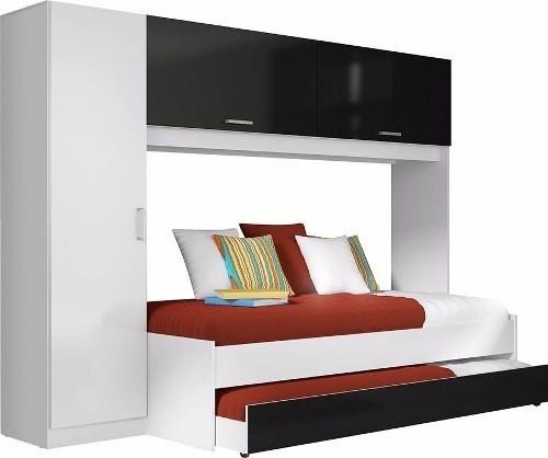 Multi Cama Marinera Con Placard Y Armario Dormitorio