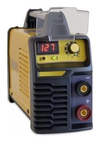 Soldadora Inverter Lumax 140amp Display Digital + Accesorios