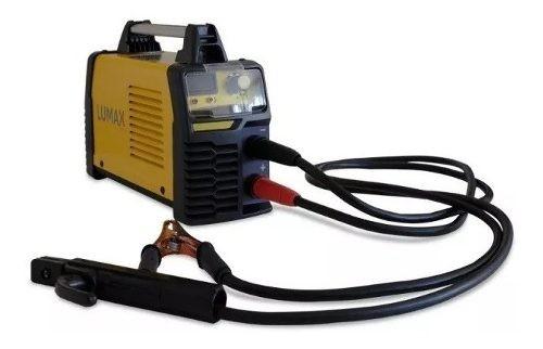 Soldadora Inverter Lumax 200amp Display Digital + Regalo