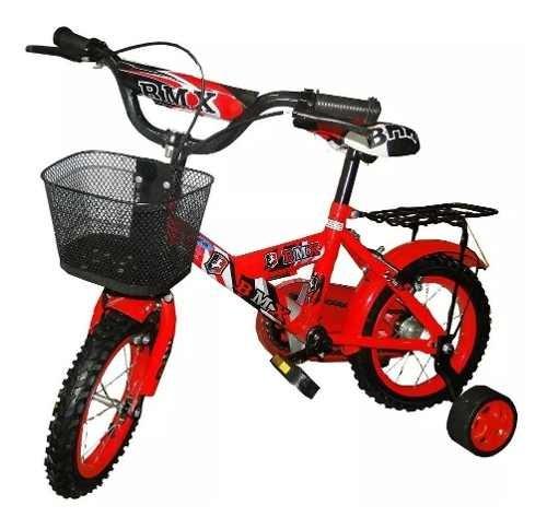 Bicicletas Bici Para Niño Azul Rodado 12