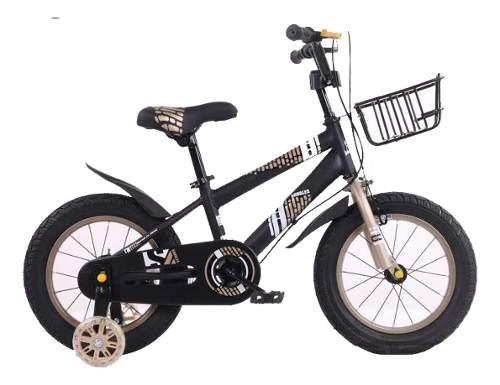 Bici Bicicleta Niño Negro/gris-