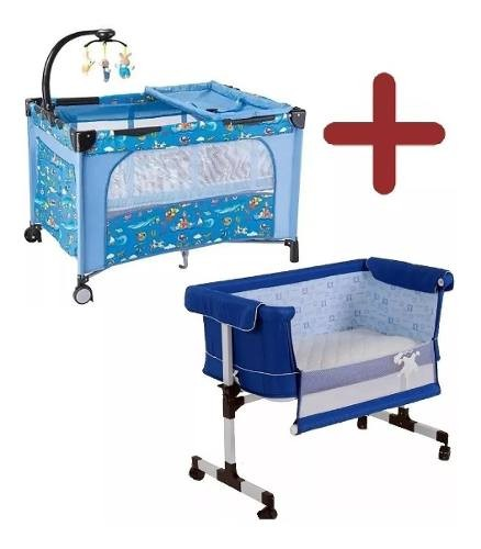 Cuna Colecho Bebé Cama + Practicuna Para Bebe