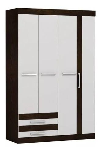 Ropero Placard Cuatro Puertas Dormitorio Mejor Distribución